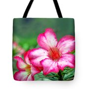 Desert Rose At Kualoa Tote Bag