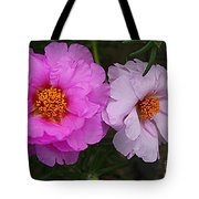 Desert Roses In Purple And Pink Tote Bag