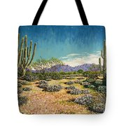 Desert Scene Near Carefree Tote Bag