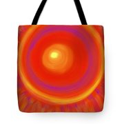 Desert Sunburst Tote Bag by Daina White