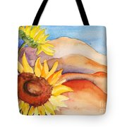 Desert Sunflower Tote Bag