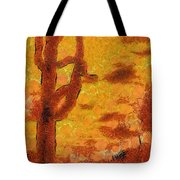 Desert Sunset Photo Art 04 Tote Bag