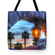 Desert Sunset View Tote Bag