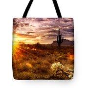 Desert Sunshine  Tote Bag
