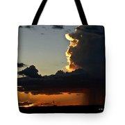 Desert Thunderstorm - Marfa Texas Tote Bag