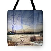 Desert Tracks Tote Bag