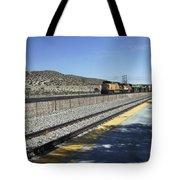 Desert Train Tote Bag