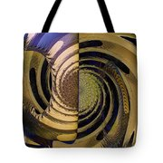 Desert Twist Tote Bag