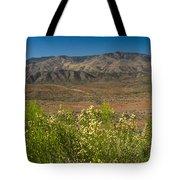 Desert Valley Scene 7 Tote Bag