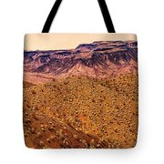 Desert View In Arizona By The Colorado River Tote Bag