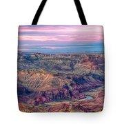 Desert View Sunset Tote Bag
