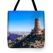 Desert View Watchtower Overlook Tote Bag