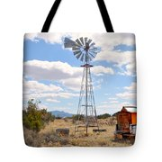 Desert Windmill Tote Bag