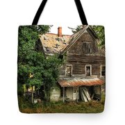 Deserted Along Time Ago Tote Bag