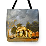 Deserted Castlemain Farmhouse Tote Bag