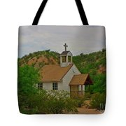 Deserted Church Tote Bag