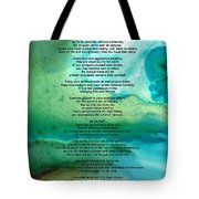 Desiderata 2 - Words Of Wisdom Tote Bag