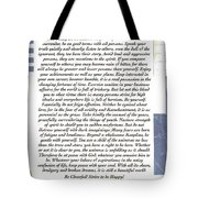 Desiderata Sailing In Style Tote Bag