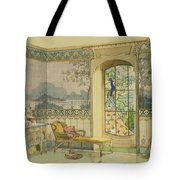 Design For A Bathroom, From Interieurs Tote Bag