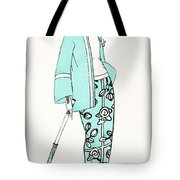 Design For A Day Dress C 1919 Tote Bag