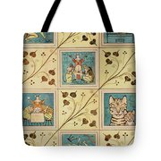 Design For Nursery Wallpaper Tote Bag