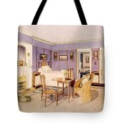Design For The Interior Of A Bedroom Tote Bag