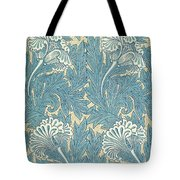 Design In Turquoise Tote Bag