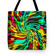 Designer Phone Case Art Colorful Rich And Bold Abstracts Cell Phone Covers Carole Spandau Cbs Art136 Tote Bag by Carole Spandau