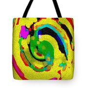 Designer Phone Case Art Colorful Rich Bold Abstracts Cell Phone Covers Carole Spandau Cbs Art 139  Tote Bag