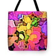 Designer Phone Case Art Colorful Rich Bold Abstracts Cell Phone Covers Carole Spandau Cbs Art 141 Tote Bag