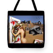 Desire And The Jack Of Hearts Tote Bag