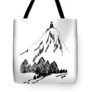 Desolation Peak_alone Time Tote Bag