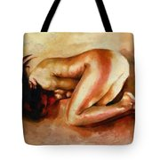 Despair - The Nude In Sadness Tote Bag