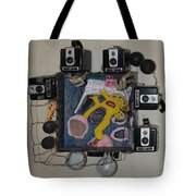 Dessert Shoes - Framed Tote Bag