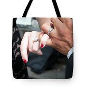 Destination Wedding Hands New Orleans Tote Bag