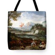 Destruction Of Niobes Children Tote Bag