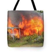 Destructive Fire Tote Bag