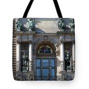 Detail City Hall Hamburg II Tote Bag