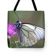 Detail Of A Butterfly In Alto Tajo Tote Bag