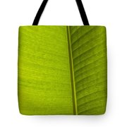 Detail Of Banana Leaf Andromeda Tote Bag