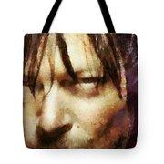 Detail Of Daryl Dixon  Tote Bag