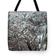 Detail Of Icelandic Glacier Tote Bag