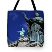 Detail Of Mary Queen Of The World Cathedral Tote Bag