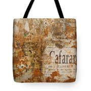 Detail Of Old Stone Wall In Sorrento Tote Bag
