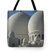 Detail Of The Domed Roof Of The Sheikh Tote Bag