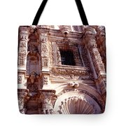 Detail Of The National Cathedral Of Guatemala Tote Bag