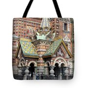 Detail Resurrection Church Tote Bag