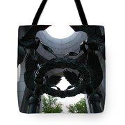 Detail World War II Memorial Tote Bag