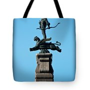 Detailed Images Of Statues In Almaty Tote Bag