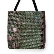 Detailed View Of Bottle House At Calico California Tote Bag